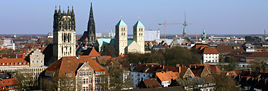 Panorama of Münster