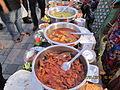 Mumbai's famous 'Koli Fish Delicacies' at the Worli Festival-2013 on Worli Sea-face..JPG