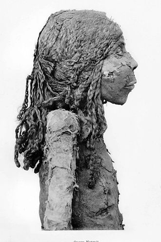 Herihor - Mummy of Nodjmet, wife (or mother?) of Herihor