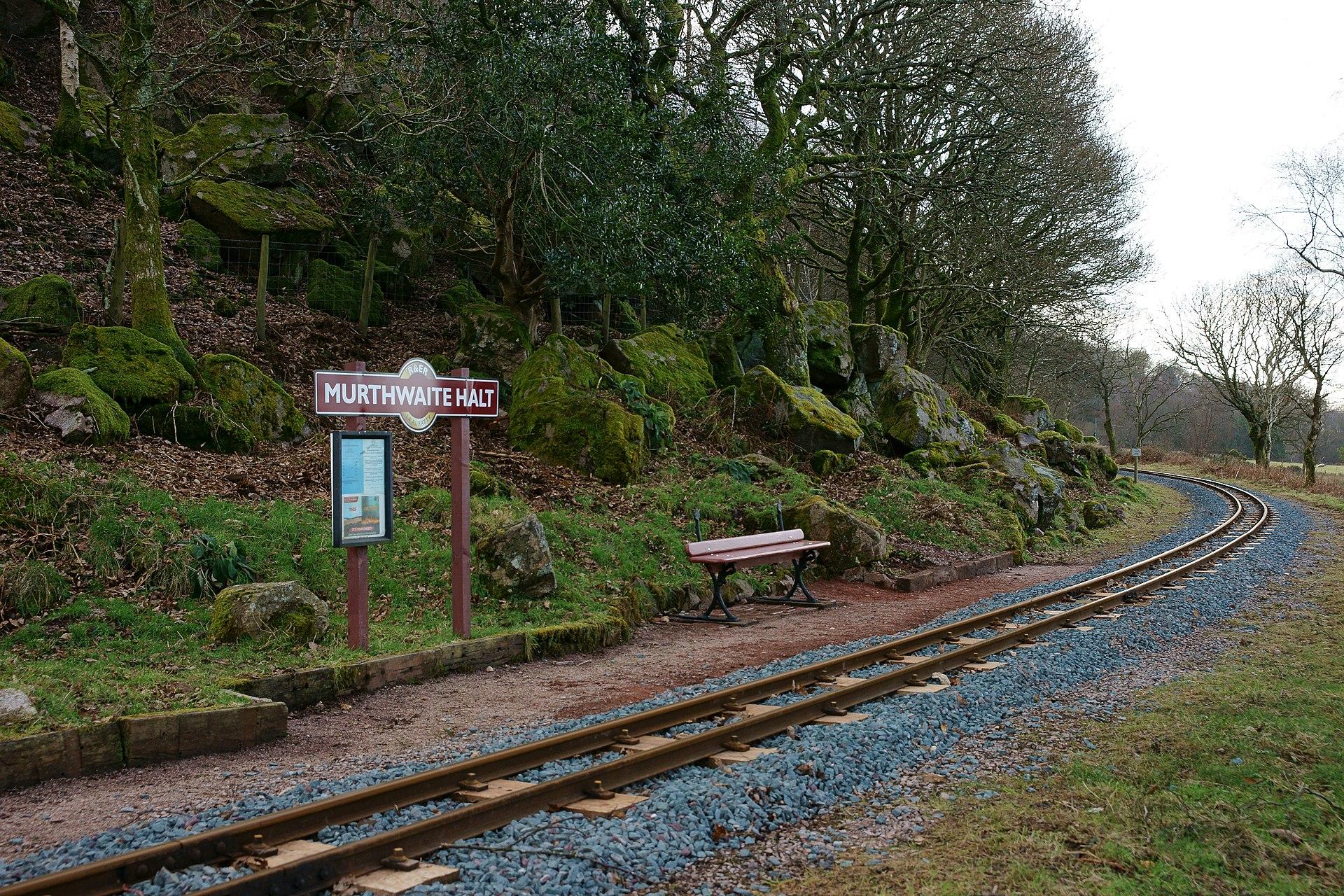 Murthwaite Halt Railway Station Wikipedia