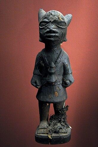 Deity - A Yoruba deity from Nigeria.