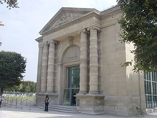 Art museum (impressionist and post-impressionist paintings) in Paris, France