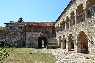 Archaeological museum. in Fier County, Albania