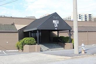 Museum of Contemporary Art of Georgia - Front entrance of MOCA