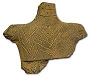Anthropomorphic Neolithic figurine