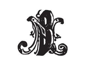 Natale Battezzati - Printer's mark of N Battezzati