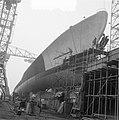 NDSM nieuwe onderzeeboot jager Friesland op helling, Bestanddeelnr 905-5593.jpg