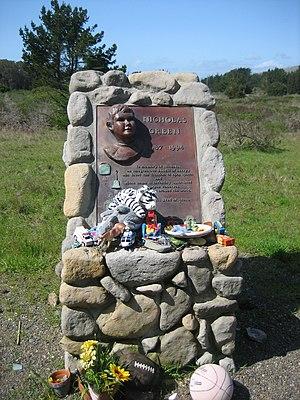 Nicholas Green - Monument erected for Nicholas Green