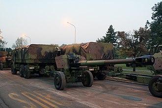 Gun-howitzer M84 NORA - Serbian Army Nora 152mm howitzer