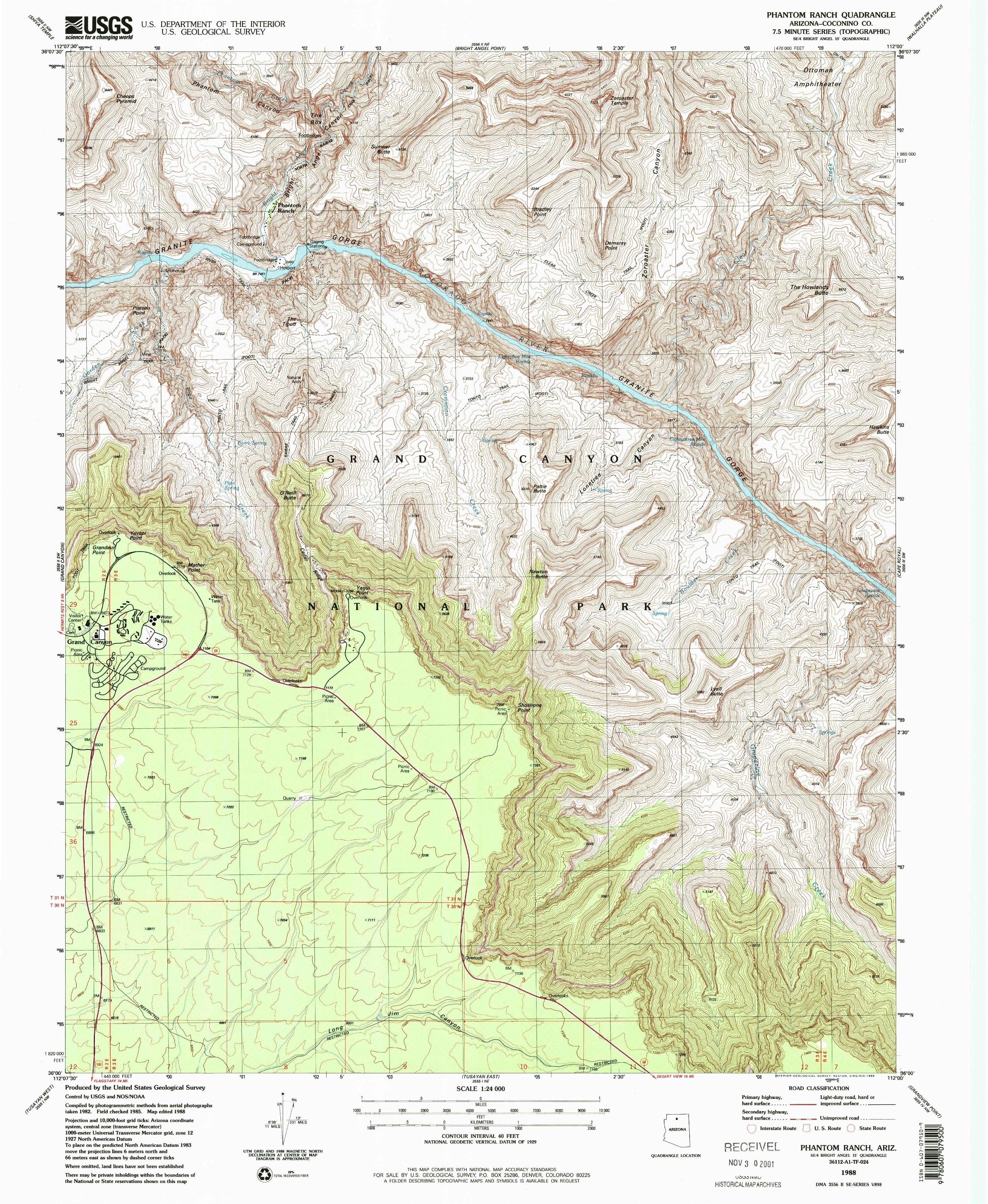 File Nps Grand Canyon South Rim East Topo Map Pdf