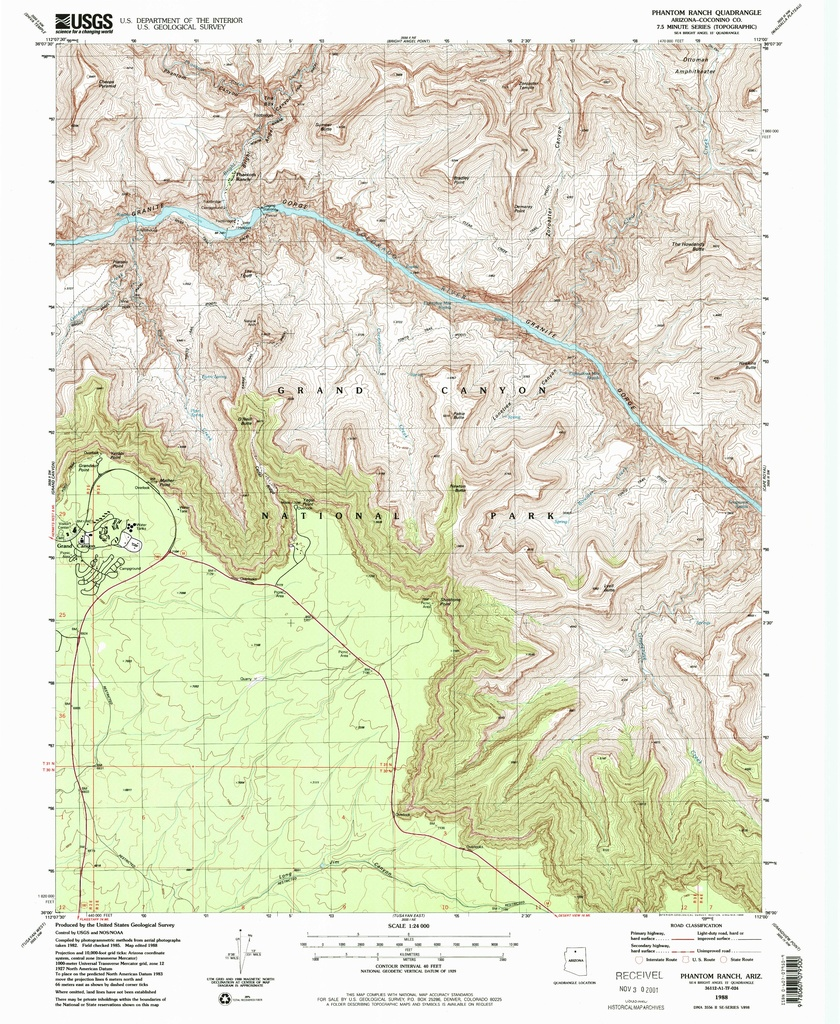 File Nps Grand Canyon South Rim East Topo Map Pdf