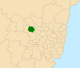 Electoral district of Blacktown state electoral district of New South Wales, Australia