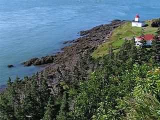 cape in Nova Scotia, Canada