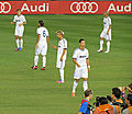 Nacho Khedira Coentrao Ronaldo Pepe in 2012.jpg
