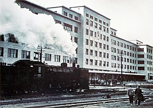 JNR Class C53 - Image: Nagoya Station at the completion, 1937 (昭和12年 建物完成時の名古屋駅)