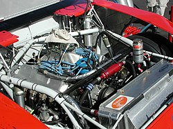 Ricky Rudd's 2004 engine