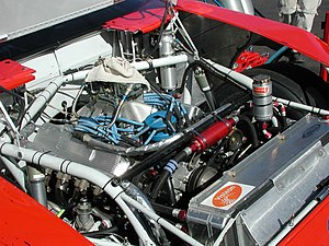 A typical NASCAR Sprint Cup Series engine
