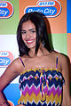 Nathalia Kaur and RGV promote Department film at Radio City FM (12).jpg