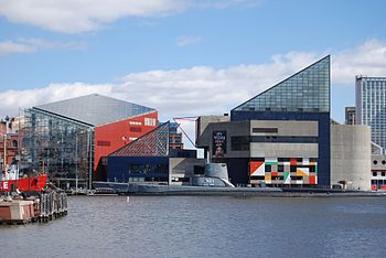 English: National Aquarium In Baltimore