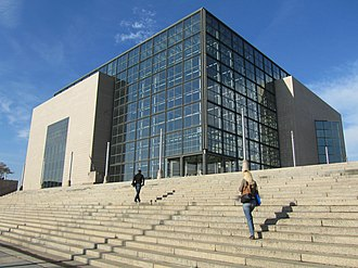 National and University Library National and University Library in Zagreb.jpg