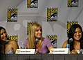 Naya Rivera, Heather Morris & Jenna Ushkowitz (4852924826).jpg