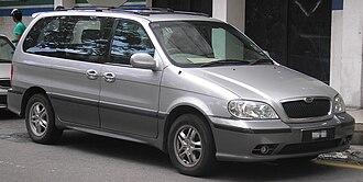 Naza Automotive Manufacturing - Image: Naza Ria (first generation) (front), Kuala Lumpur
