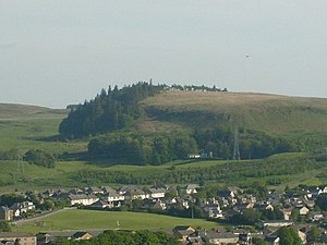 Neilston - Neilston Pad is a high point in Neilston, characterised by a craggy face on its eastern side