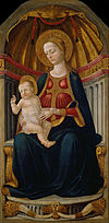 Neri di Bicci - Virgin and Child on the Throne - Google Art Project.jpg