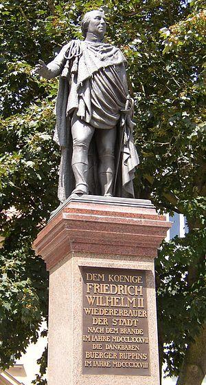 Christian Friedrich Tieck - Image: Neuruppin Friedrich Wilhelm II