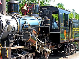 White Mountain Central Railroad - Climax Locomotive of 1920