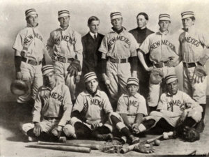 New Mexico Lobos baseball - The 1906 baseball team