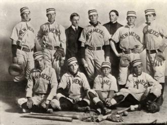 New Mexico Lobos baseball - The 1906 baseball team