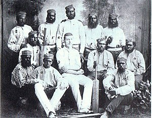Cricket in Western Australia - The New Norcia Cricket Team, early 1880s, captained by Henry Lefroy who would later become the 11th Premier of Western Australia.