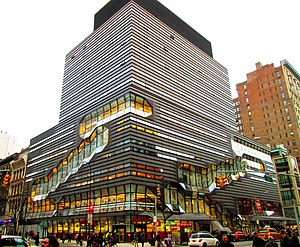 The New School - The New School University Center at 14th Street and Fifth Avenue, a LEED Gold building completed in 2014