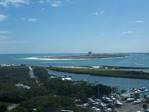 New Smyrna Beach, Florida - Oceanside view of New Smyrna Beach