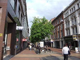 New Street, Birmingham street in Birmingham, United Kingdom