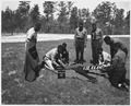 Newberry County, South Carolina. First aid training for CCC enrollees at Camp F-6. Enoree District . . . - NARA - 522810.tif