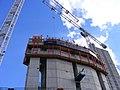 Newfoundland tower construction, Docklands E14.jpg