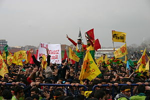 Newroz as celebrated by Kurds - Newroz in Istanbul