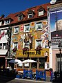 Nice paintings to Goldenes Fas, Semmelstrase, Würzburg, 22 Aug 2010 - panoramio.jpg