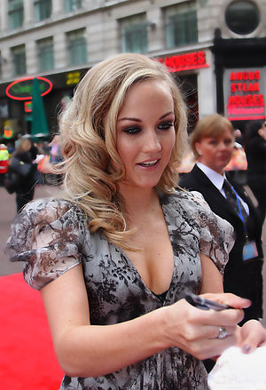 Nichola Burley - Burley at the premiere of StreetDance 3D