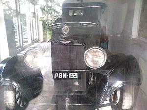 Nicholas Roerich - Car of Nicolas Roerich in his museum at Naggar