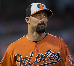 Nick Markakis April 2014.jpg