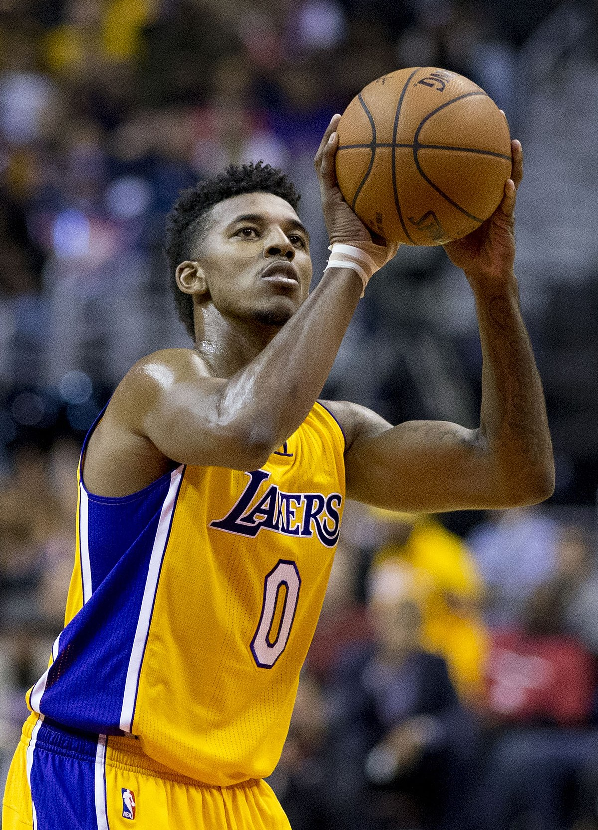 Nick young basketball wikipedia ccuart Images