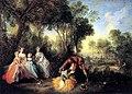 Nicolas Lancret, Group Portrait in a Landscape with Amorous Couple - Krannert Art Museum.jpg