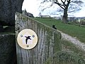 Nidderdale Way Waymark - geograph.org.uk - 611661.jpg