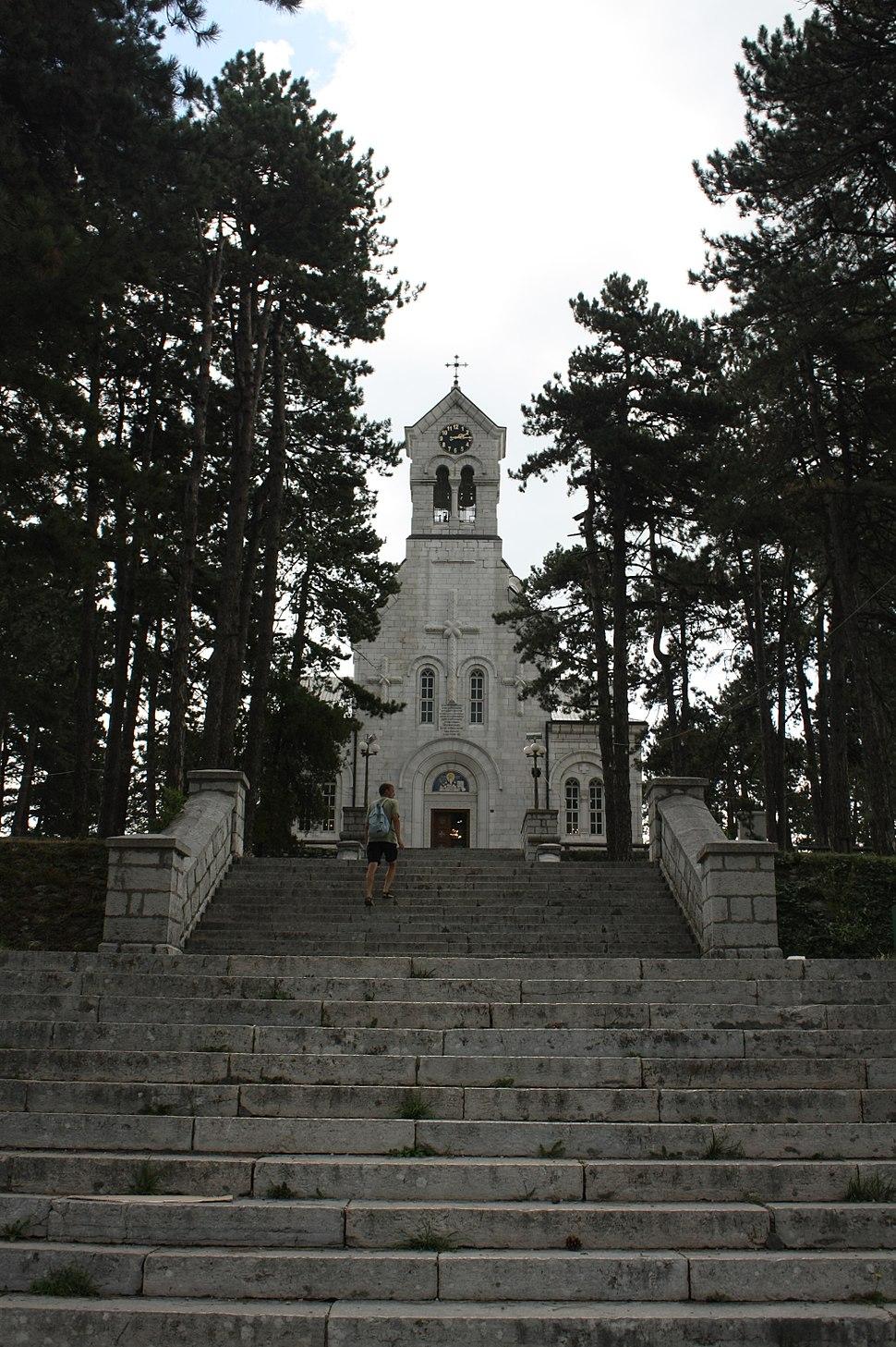 Nikšić, Montenegro - church