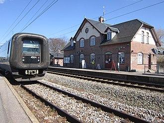 Nivå - Image: Nivå station