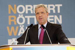 Norbert Röttgen German politician (CDU)