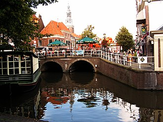 Alkmaar - Canal and bridge